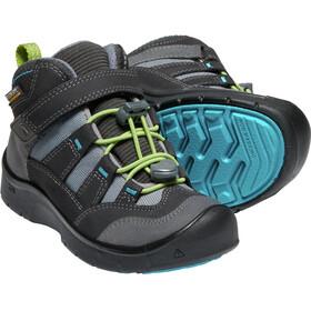 Keen Hikeport Mid WP Shoes Children grey/black